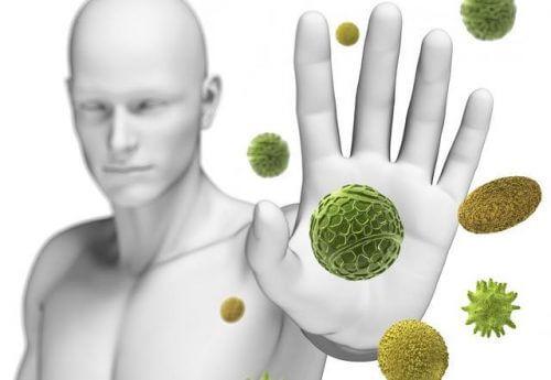 Sistema imunológico forte