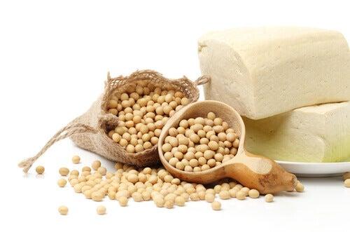 Soja para aumentar a ingestão de proteínas