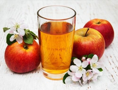 Receita de suco de maçã