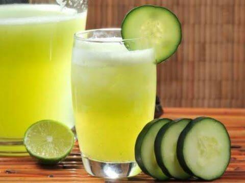 Suco de pepino para reduzir o colesterol