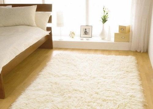 O tapete dá um visual melhor na casa