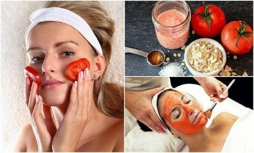 5 usos cosméticos do tomate que você não conhecia