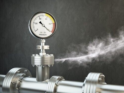 Podeos usar o sabão para detectar fuga de gás