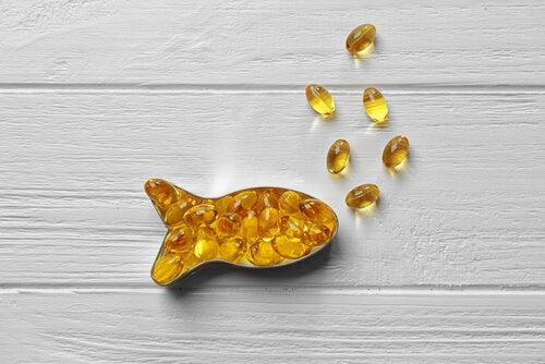 Benefícios do óleo de peixe