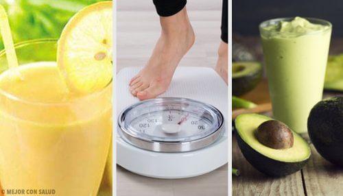 Bebidas recomendadas para perder peso