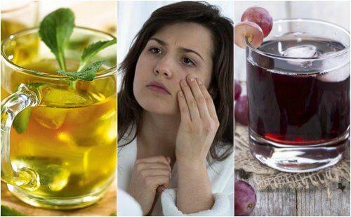 5 bebidas saudáveis para o tratamento da anemia