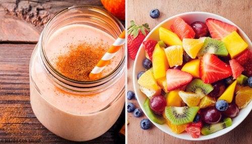 7 batidas nutritivas para o café da manhã todos os dias da semana