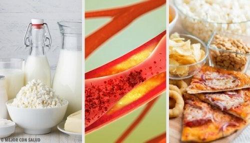 Alimentos que obstruem as artérias