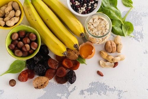 Alimentos que ajudam a reduzir cãimbras
