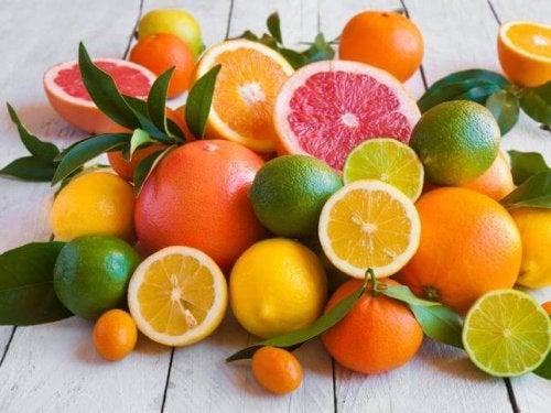 Cítricos para manter a visão saudável