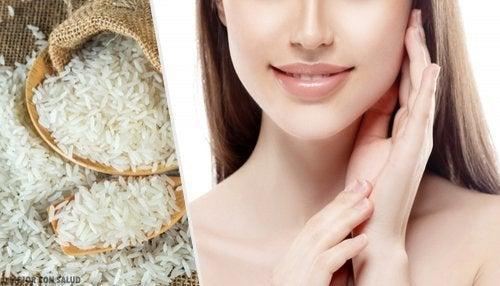 Benefícios e usos do arroz para a pele