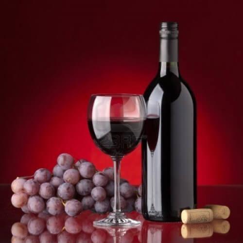 Vinho de uva negra