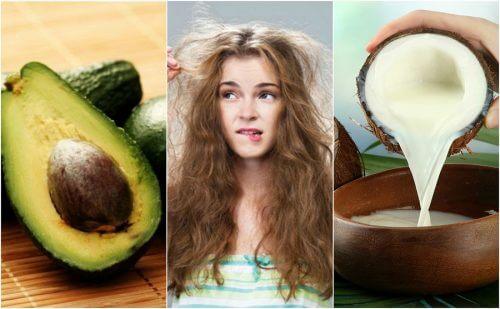 Os 5 melhores produtos naturais para controlar o frizz do cabelo