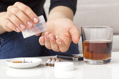 Diga adeus ao mau hábito não misturando vícios