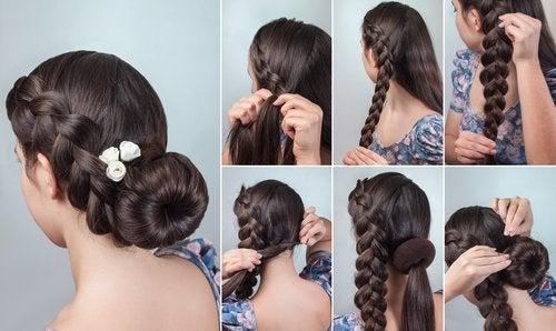 5 penteados simples que farão você ficar mais bonita