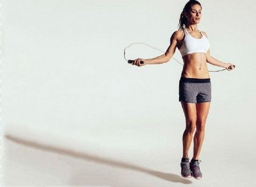 Fique em forma pulando corda