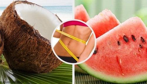Quais são as frutas com um efeito queima-gordura?