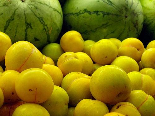 Frutas para cuidar da pele