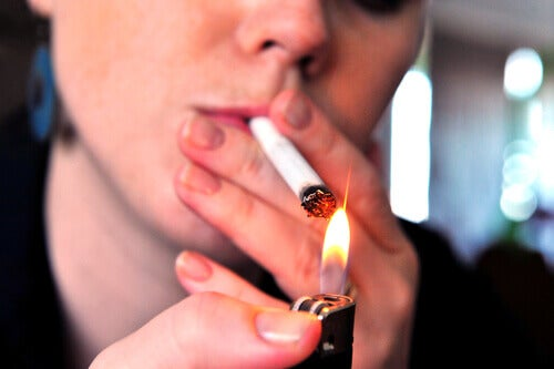 O tabagismo pode desencadear câncer de pulmão