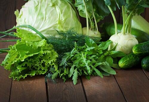 Vegetais de folhas verdes ajudam a lutar contra as infecções