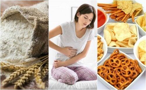 8 alimentos que não se deve comer quando tem inflamação