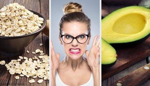 Os melhores alimentos para combater o nervosismo