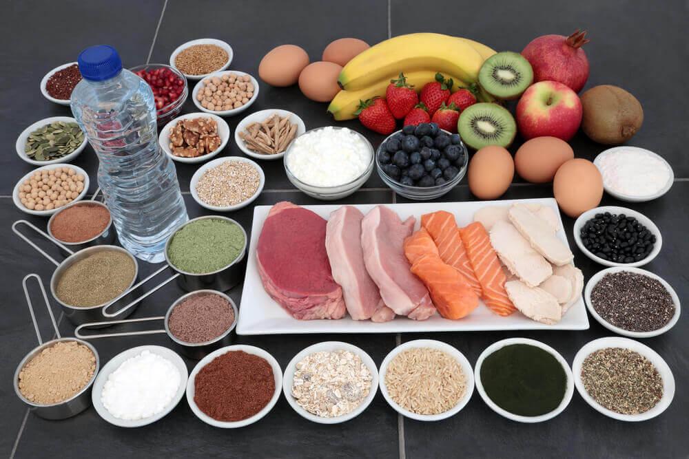 Alimentos ricos em creatina