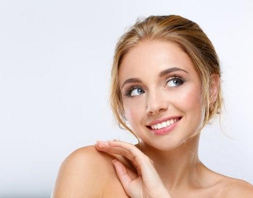 Alimentos saudáveis contribuem para ter uma pele bonita