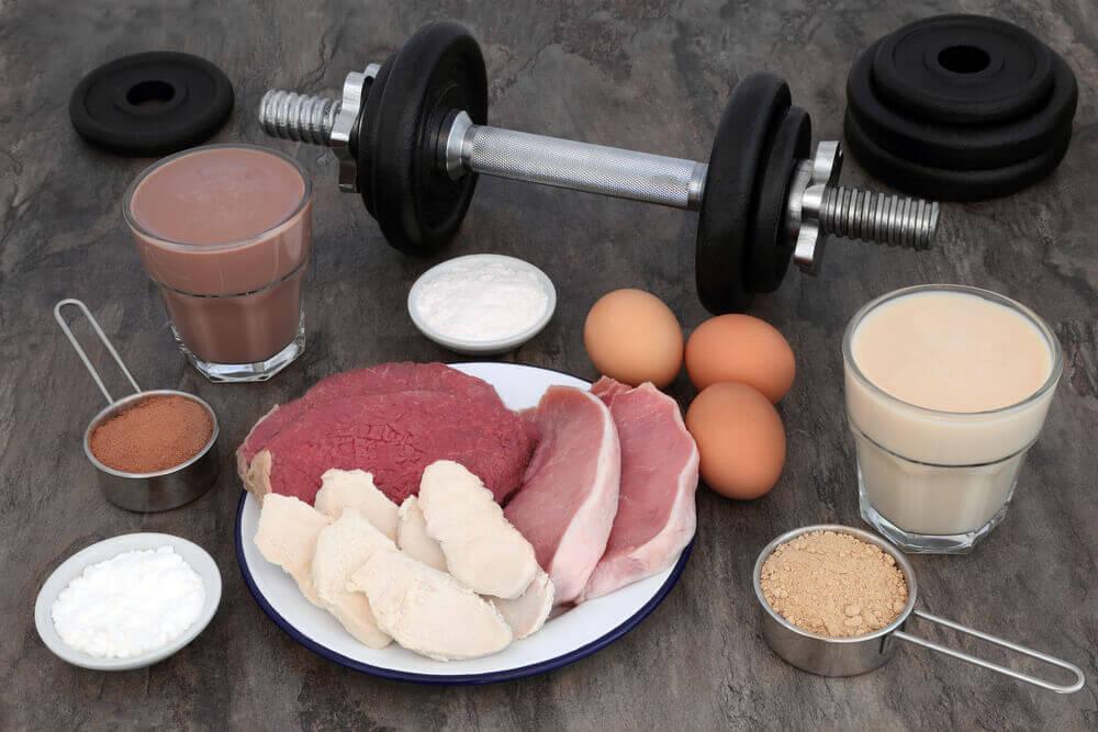 Alimentos para aumentar a musculatura