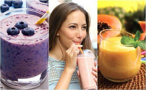 5 vitaminas saudáveis para o seu café da manhã