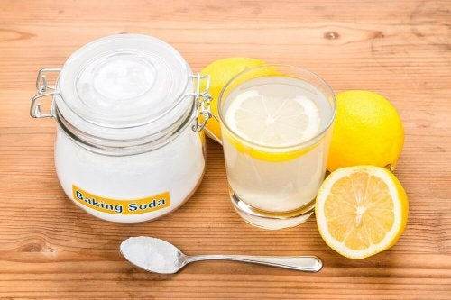 Bicarbonato de sódio e limão