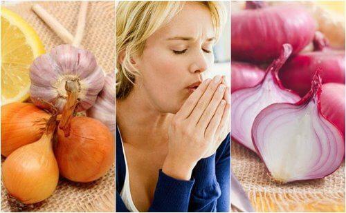 Como utilizar a cebola para combater a tosse de forma natural