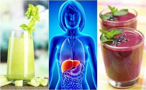 4 sucos de fruta para desintoxicar o fígado
