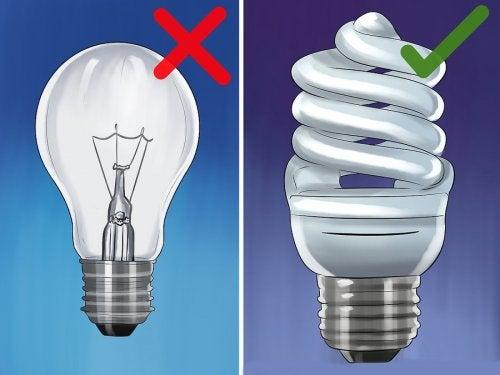 7 dicas para gastar menos eletricidade