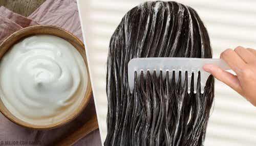 Embeleze seu cabelo com máscaras de maionese