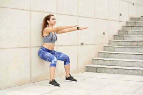 Fortalecer os músculos das extremidades inferiores