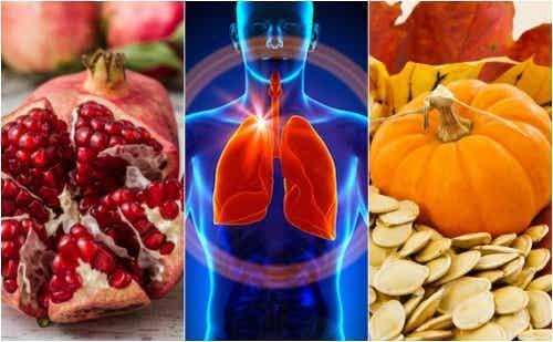 6 alimentos que favorecem a função pulmonar