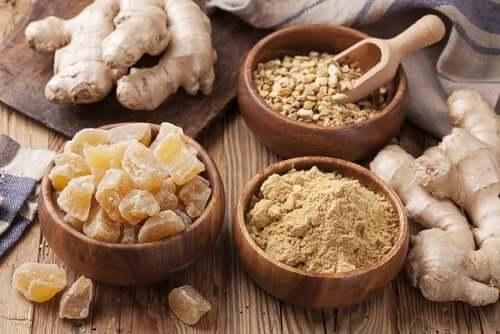 Além de temperar os alimentos o gengibre possui benefícios para a saúde