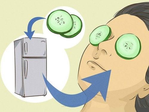 9 máscaras para relaxar os olhos e eliminar olheiras