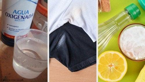 6 maneiras de eliminar as manchas de desodorante da roupa