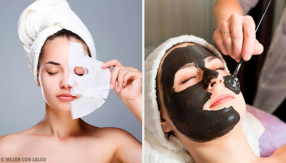 6 máscaras peel-off com gelatina para revitalizar a pele facial