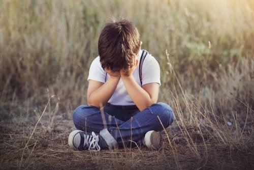 A tristeza em uma criança pode determinar psicopatia infantil