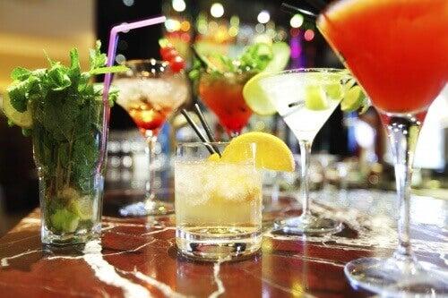 Controle o consumo de álcool