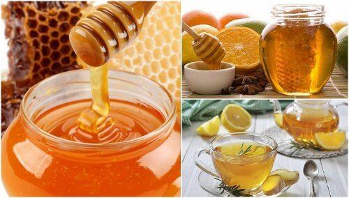 5 remédios com mel para melhorar sua saúde