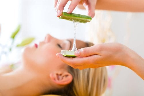 Xampu natural de aloe vera