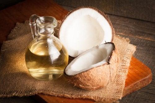 Esfoliante de óleo de coco