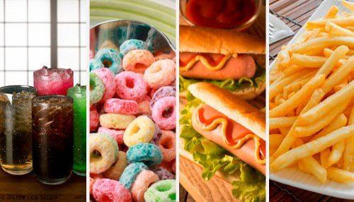 16 alimentos que deveríamos evitar