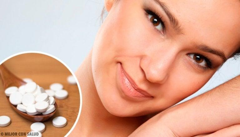 4 máscaras com aspirina para uma pele perfeita