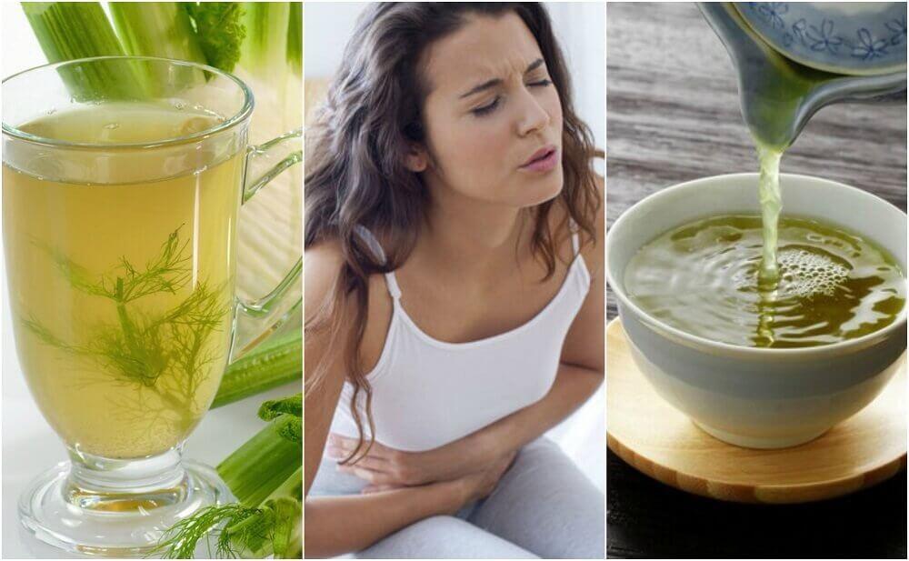 5 infusões de plantas para combater a indigestão