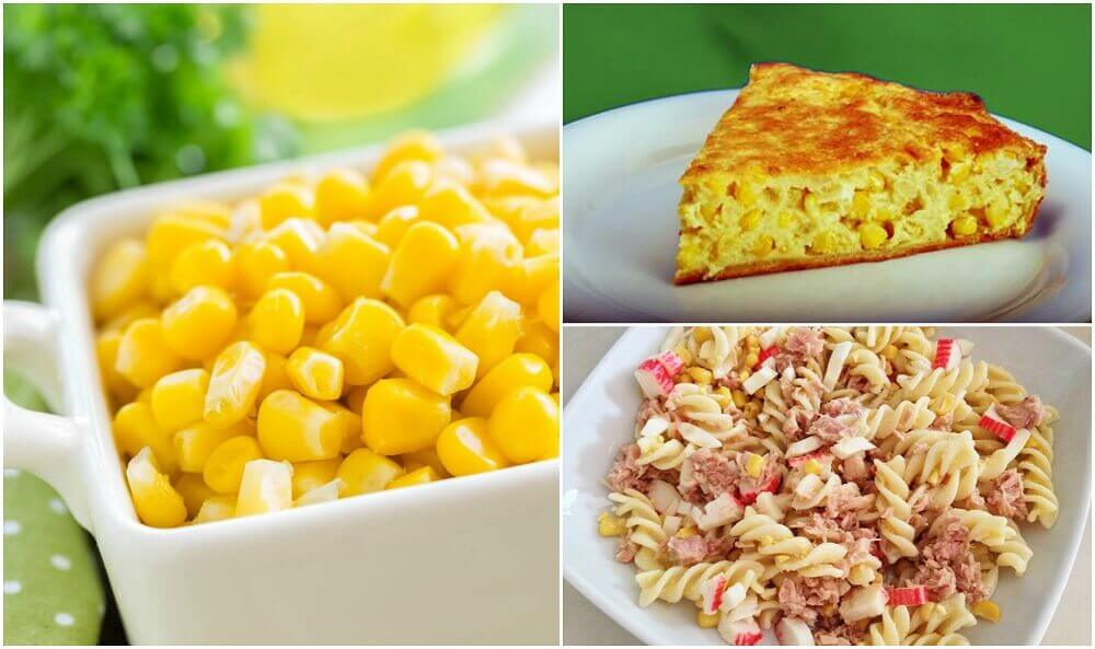 5 deliciosos pratos com milho doce